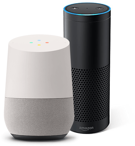 Amazon Alexa, Google Assistant